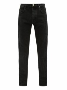 Loewe - Straight Leg Stretch Denim Jeans - Mens - Black