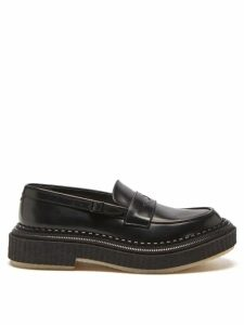 Altea - Roll Neck Wool Sweater - Mens - Brown