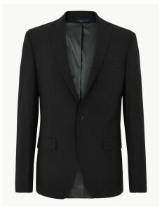 M&S Collection The Ultimate Black Skinny Fit Jacket