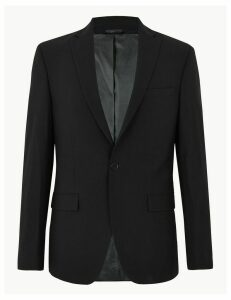 M&S Collection The Ultimate Black Regular Fit Jacket
