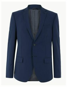 M&S Collection The Ultimate Blue Regular Fit Jacket
