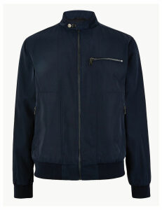 M&S Collection Stormwear Biker Jacket