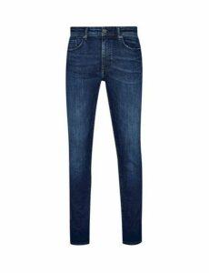 Mens Indigo Tyler Skinny Fit Jeans, INDIGO