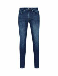 Mens Indigo Ethan Super Skinny Jeans, INDIGO