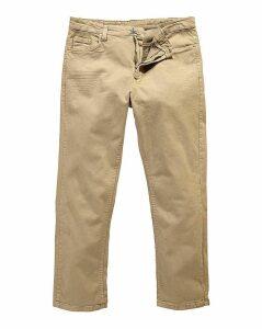 UNION BLUES Stone Gaberdine Jeans 35 In