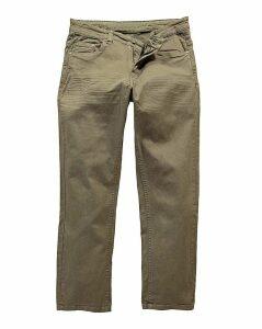 UNION BLUES Khaki Gaberdine Jeans 31 In