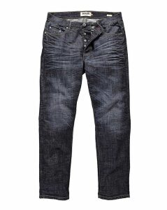 Lambretta Dark Wash Jean 33in Leg