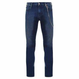 Emporio Armani Gold Chain Jeans