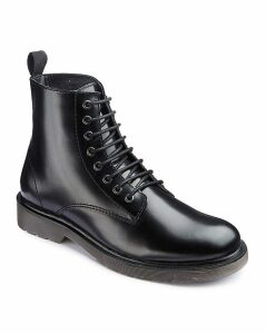 Jacamo Lace Up Military Boots Standard