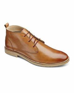 Jacamo Lace up Boots Extra Wide Fit