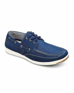 Cushion Walk Lace Up Boat Shoe
