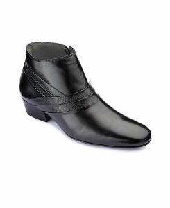 Stride Tall Cuban Heel Boots Wide Fit