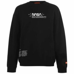 Heron Preston Nasa Crew Sweatshirt