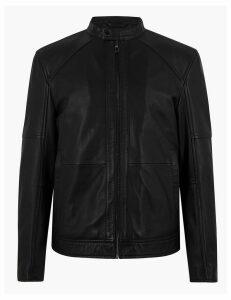 Autograph Leather Biker Jacket