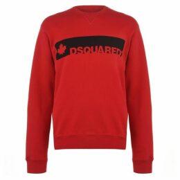 DSquared2 Long Sleeved Logo Sweatshirt