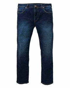 Straight Indigo Premium Wash Jeans