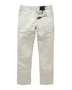 Black Label By Jacamo Linen Trousers 29