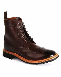 Chatham York Goodyear Welted Brogue Boot