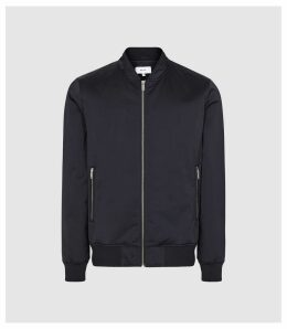 Reiss Blossum - Lightweight Bomber Jacket in Navy, Mens, Size XXL