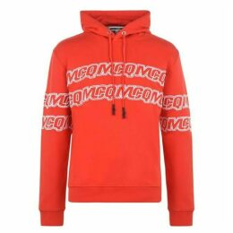 McQ Alexander McQueen Logo Rerun Over The Top Hoodie