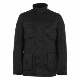Barbour International Lock Seam Waxed Jacket