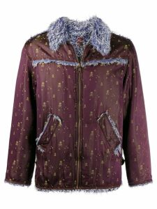Jean Paul Gaultier Pre-Owned pirate skull embroidered jacket - Purple