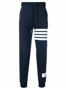 Thom Browne 4-bar Half-&-half Sweatpants - Blue