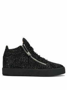 Giuseppe Zanotti Kriss Glitter sneakers - Black