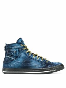 Diesel hi-top sneakers - Blue