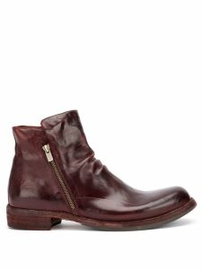 Officine Creative zipped ankle boots - Brown
