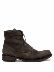 Officine Creative lace up boots - Brown