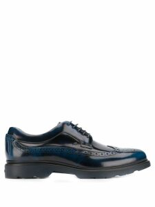 Hogan lace-up brogues - Blue