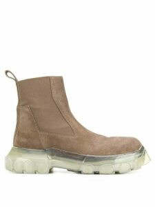 Rick Owens Bozo Tractor boots - Brown