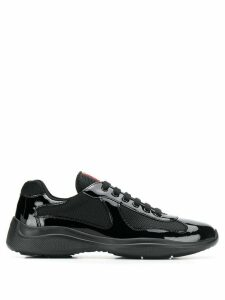 Prada Americas Cup low-top sneakers - Black