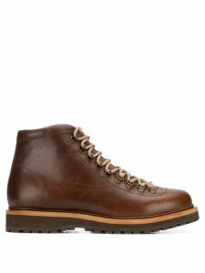 Brunello Cucinelli lace-up front boots - Brown