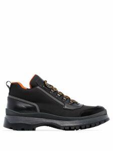 Prada Brixen mid-height hiking boots - Black