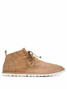 Marsèll ridged sole ankle boots - Neutrals