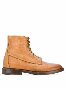Brunello Cucinelli lace-up boots - Brown