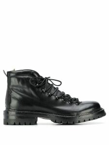 Officine Creative lace-up chunky boots - Black