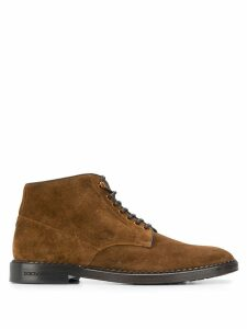 Dolce & Gabbana suede ankle boots - Brown