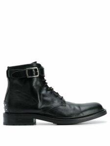 Saint Laurent Army stud detailed boots - Black