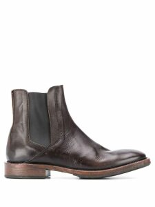 Moma Leather Chelsea boots - Brown