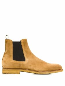 Car Shoe contrast Chelsea boots - Brown