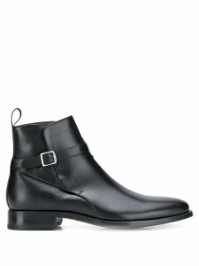 Scarosso buckled ankle boots - Black