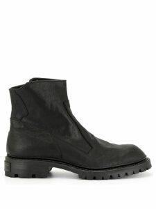 Julius zipped ankle boots - Black