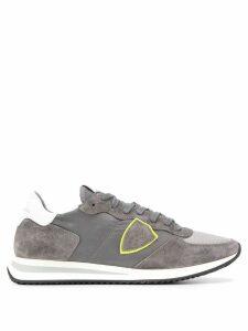 Philippe Model suede panel sneakers - Grey