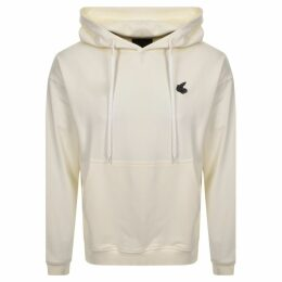 Vivienne Westwood Small Orb Oversized Hoodie White