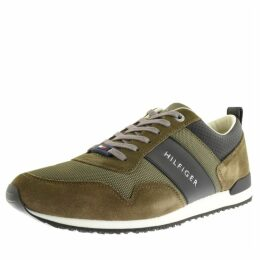 Tommy Hilfiger Iconic Mix Runner Trainers Green