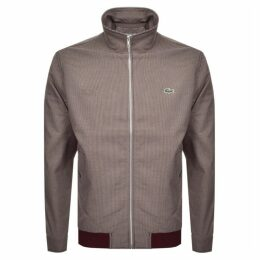 Lacoste Full Zip Jacket Burgundy