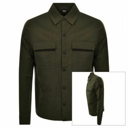 BOSS Casual WApple Jacket Green